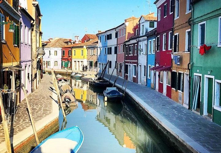 Roam In The Picturesque Italian Colorful City Of Burano